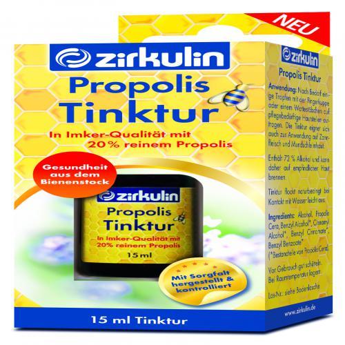 ZIRKULIN Propolis Tinktur 15 ml