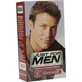 Just for men Tönungsshampoo mittelbraun