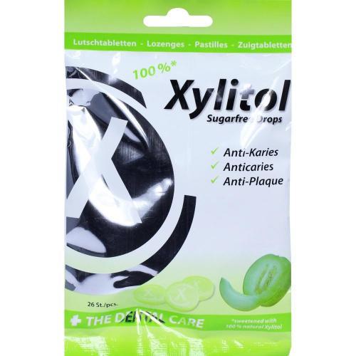 MIRADENT Xylitol Drops zuckerfrei Melon 60 g